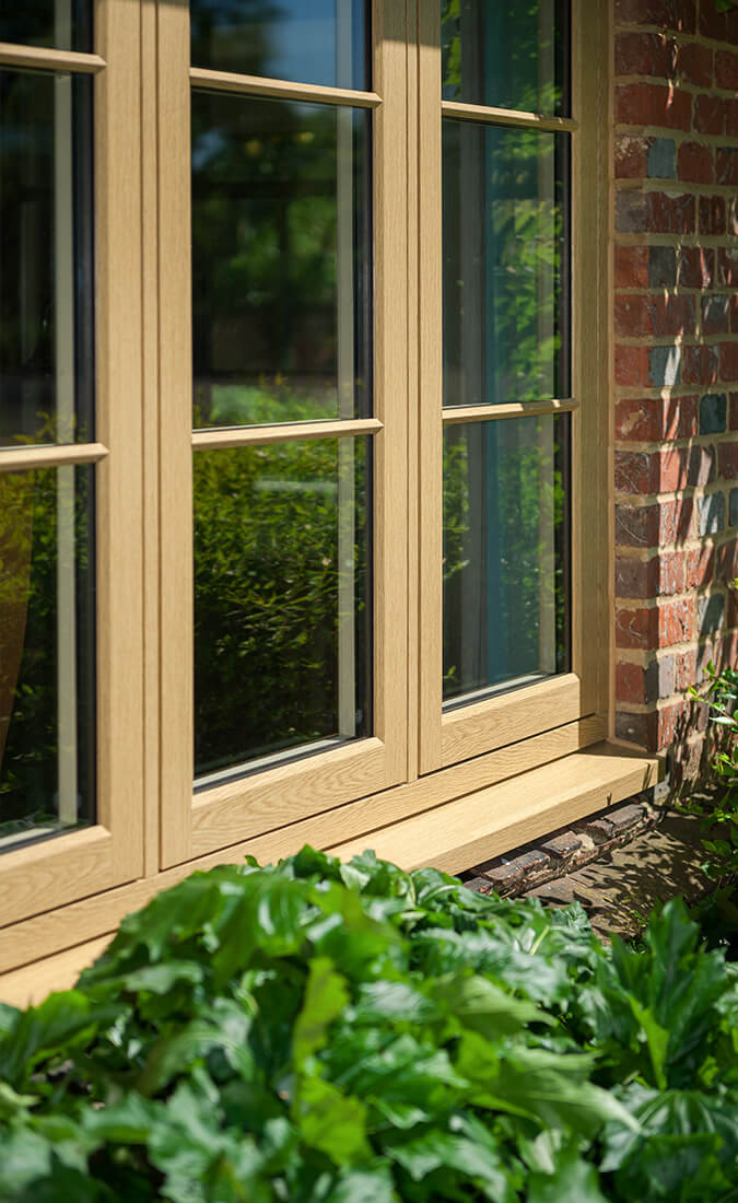 Light oak effect Residence 9 window