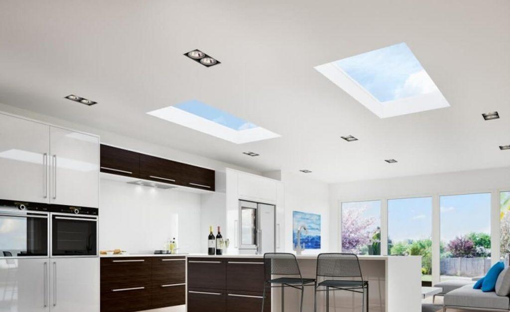 Rooflights interior view