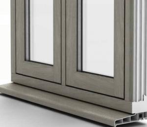 Optima flush sash window frame